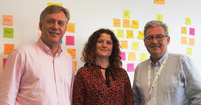 Agilesphere Founders: Jeremy Renwick, Davina Sirisena, Hugh Ivory