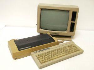 Amstrad PCW 8256 / 8512v. Career in tech.